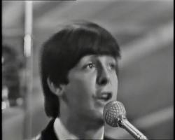 The Beatles I saw her standing there avi