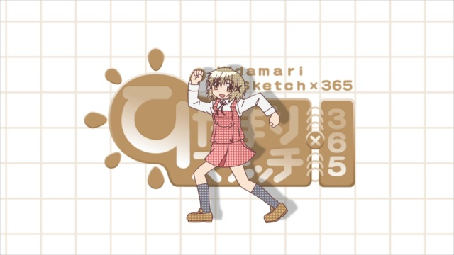 Hidamari Sketch x 365 Clean Opening Animations 02 BD AVC 1080p FLAC 21829D39 mkv
