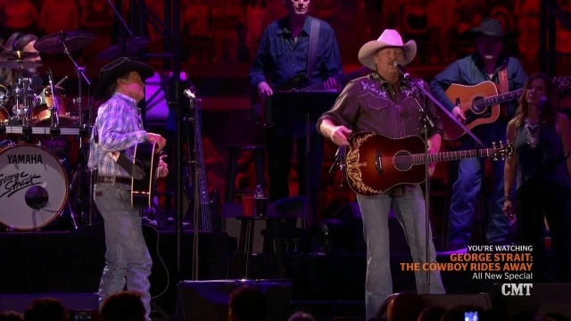 George Strait Murder On Music Row with Alan Jackson The Cowboy Rides Away op mp4