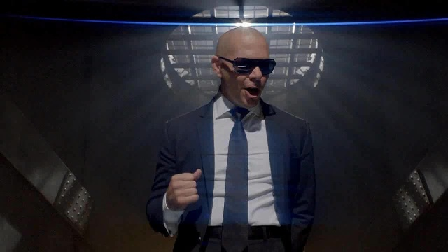 09 Pitbull Back In Time HD 2012 avi