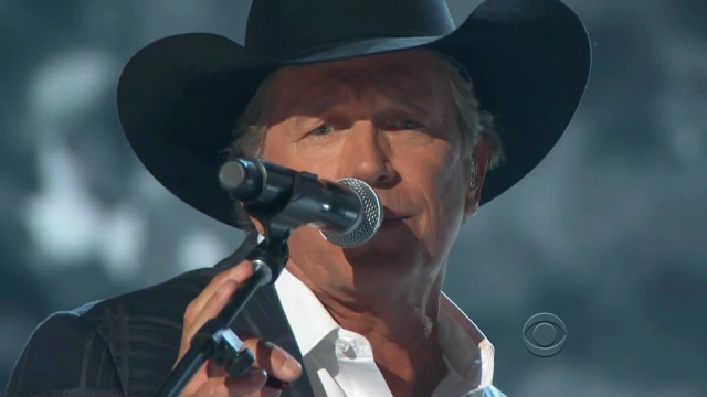 Late shows live george strait got car 49th Annual Academy Country Music Awards 2014 mp4