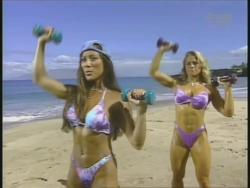 Kiana Tom Monica Brant Inflate Work Tight Lavender Bikinis 720p 20140729103255 0 JPG