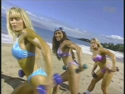 Kiana Tom Monica Brant Inflate Work Tight Lavender Bikinis 720p 20140729103212 0 JPG