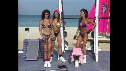 Kiana Tom Tight Tiny Purple Bikini Body Shaping 102 JPG