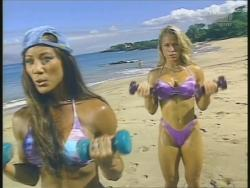 Kiana Tom Monica Brant Inflate Work Tight Lavender Bikinis 720p 20140729103049 0 JPG