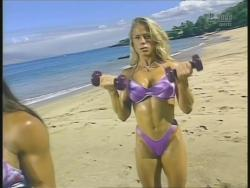 Kiana Tom Monica Brant Inflate Work Tight Lavender Bikinis 720p 20140729103050 0 JPG