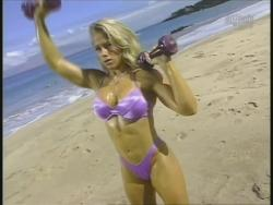 Kiana Tom Monica Brant Inflate Work Tight Lavender Bikinis 720p 20140729103252 0 JPG