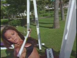 Kiana Tom Flex Appeal Workin Hot Black Bikini 720p 20140918030800 0 JPG