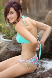 Hayden Ryan Set 026 Bikini Waterfall 1865