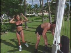 Kiana Tom Flex Appeal Workin Hot Black Bikini 720p 20140918030957 0 JPG
