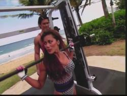 Kiana Tom Flex Appeal Mesh Over Black Bikini Workout 720p 20150326141625 0 JPG