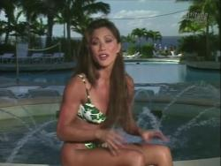 Kiana Tom Works Tight Green String Bikini With Friends 720p 20140919103549 0 JPG