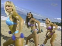 Kiana Tom Monica Brant Inflate Work Tight Lavender Bikinis 720p 20140729103211 0 JPG
