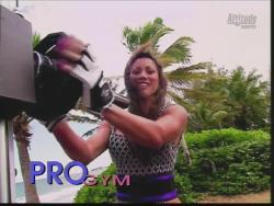 Kiana Tom Flex Appeal Mesh Over Black Bikini Workout 720p 20150326141333 0 JPG