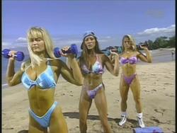Kiana Tom Monica Brant Inflate Work Tight Lavender Bikinis 720p 20140729103238 0 JPG