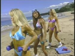 Kiana Tom Monica Brant Inflate Work Tight Lavender Bikinis 720p 20140729103206 0 JPG