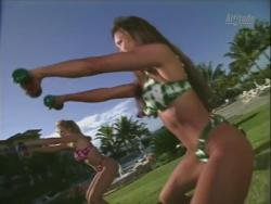 Kiana Tom Works Tight Green String Bikini With Friends 720p 20140919103634 0 JPG
