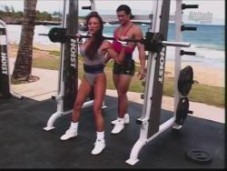 Kiana Tom Flex Appeal Mesh Over Black Bikini Workout 720p 20150326141402 0 JPG