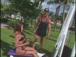 Kiana Tom Flex Appeal Workin Hot Black Bikini 720p 20140918030950 0 JPG