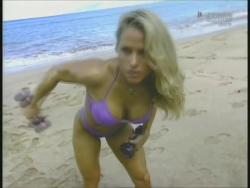 Kiana Tom Monica Brant Inflate Work Tight Lavender Bikinis 720p 20140729103201 0 JPG