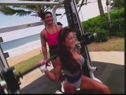 Kiana Tom Flex Appeal Mesh Over Black Bikini Workout 720p 20150326141536 0 JPG