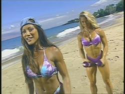 Kiana Tom Monica Brant Inflate Work Tight Lavender Bikinis 720p 20140729103307 0 JPG