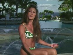 Kiana Tom Works Tight Green String Bikini With Friends 720p 20140919103542 0 JPG
