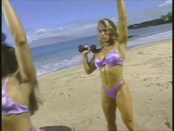 Kiana Tom Monica Brant Inflate Work Tight Lavender Bikinis 720p 20140729103253 0 JPG