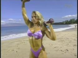 Kiana Tom Monica Brant Inflate Work Tight Lavender Bikinis 720p 20140729103249 0 JPG