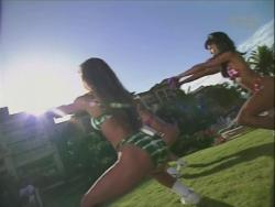 Kiana Tom Works Tight Green String Bikini With Friends 720p 20140919103630 0 JPG
