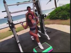 Kiana Tom Flex Appeal Mesh Over Black Bikini Workout 720p 20150326141550 0 JPG