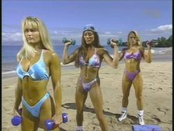 Kiana Tom Monica Brant Inflate Work Tight Lavender Bikinis 720p 20140729103237 0 JPG