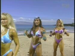 Kiana Tom Monica Brant Inflate Work Tight Lavender Bikinis 720p 20140729103256 0 JPG