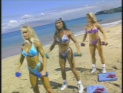 Kiana Tom Monica Brant Inflate Work Tight Lavender Bikinis 720p 20140729103300 0 JPG