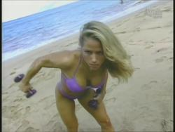 Kiana Tom Monica Brant Inflate Work Tight Lavender Bikinis 720p 20140729103203 0 JPG