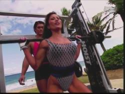 Kiana Tom Flex Appeal Mesh Over Black Bikini Workout 720p 20150326141427 0 JPG