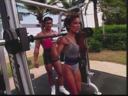 Kiana Tom Flex Appeal Mesh Over Black Bikini Workout 720p 20150326141349 0 JPG