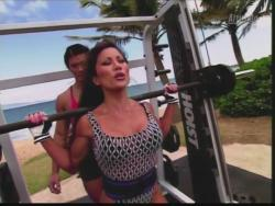 Kiana Tom Flex Appeal Mesh Over Black Bikini Workout 720p 20150326141421 0 JPG