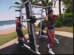 Kiana Tom Flex Appeal Mesh Over Black Bikini Workout 720p 20150326141343 0 JPG