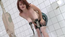 tits milking machine